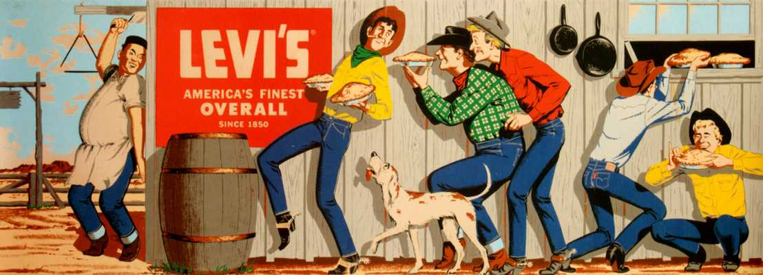 US Levi's advert from the 1950s