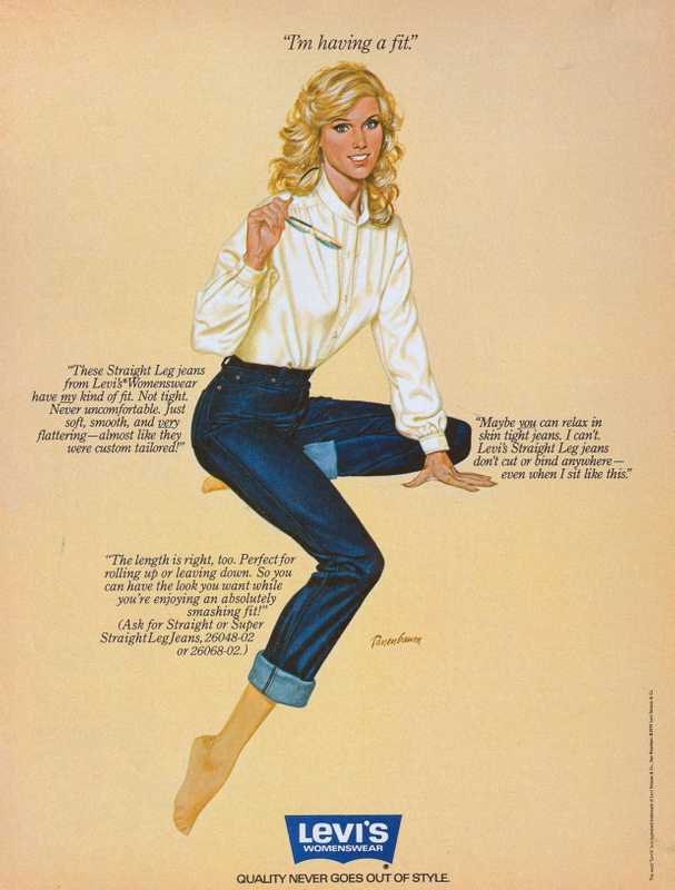 Levi's ad from the 1970s