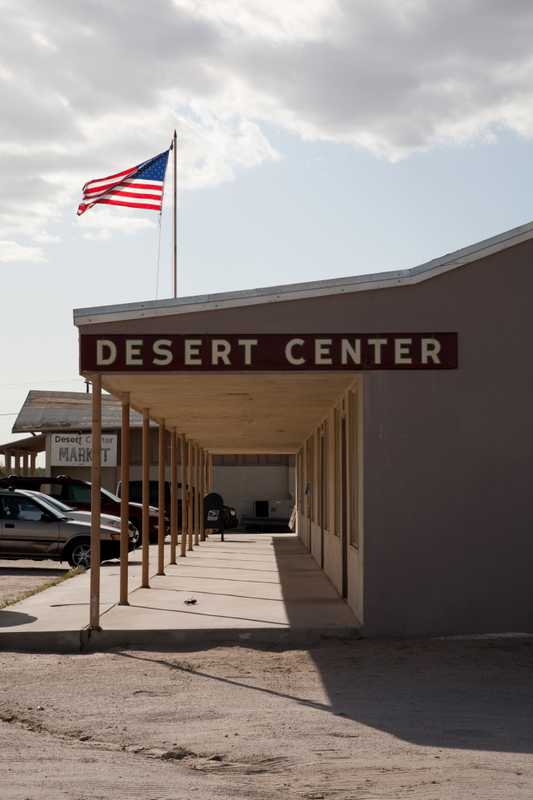 The main drag of Desert Center