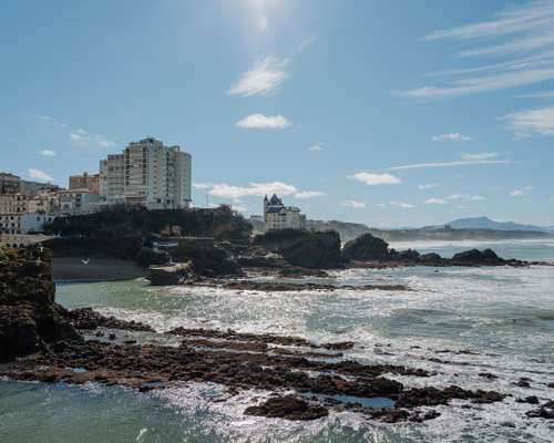 Biarritz's regal architecture
