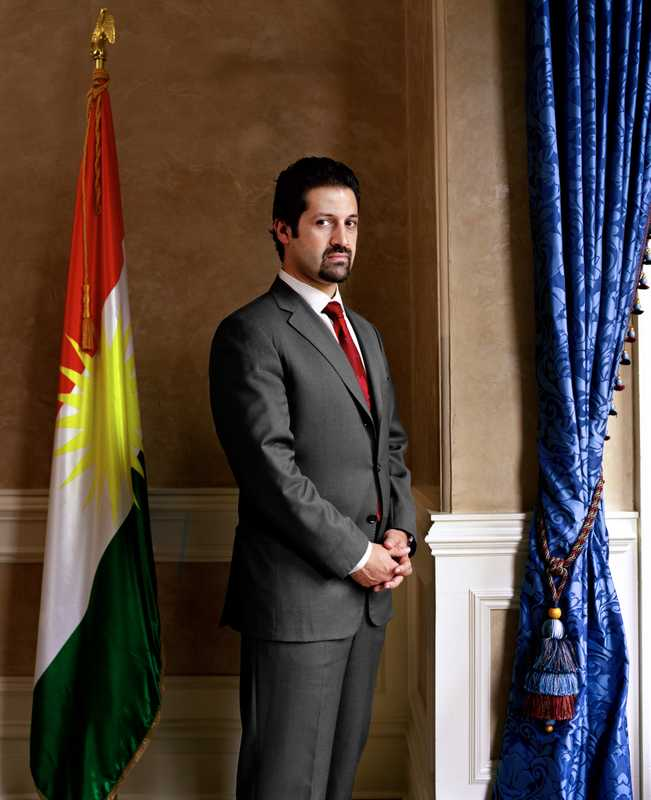 Quhad Talabani. Representative of the Kurdistan Regional Government
