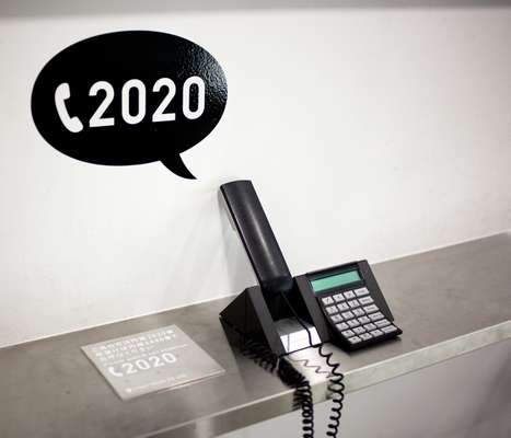 Reception area phone: dial 2020 for Zozo