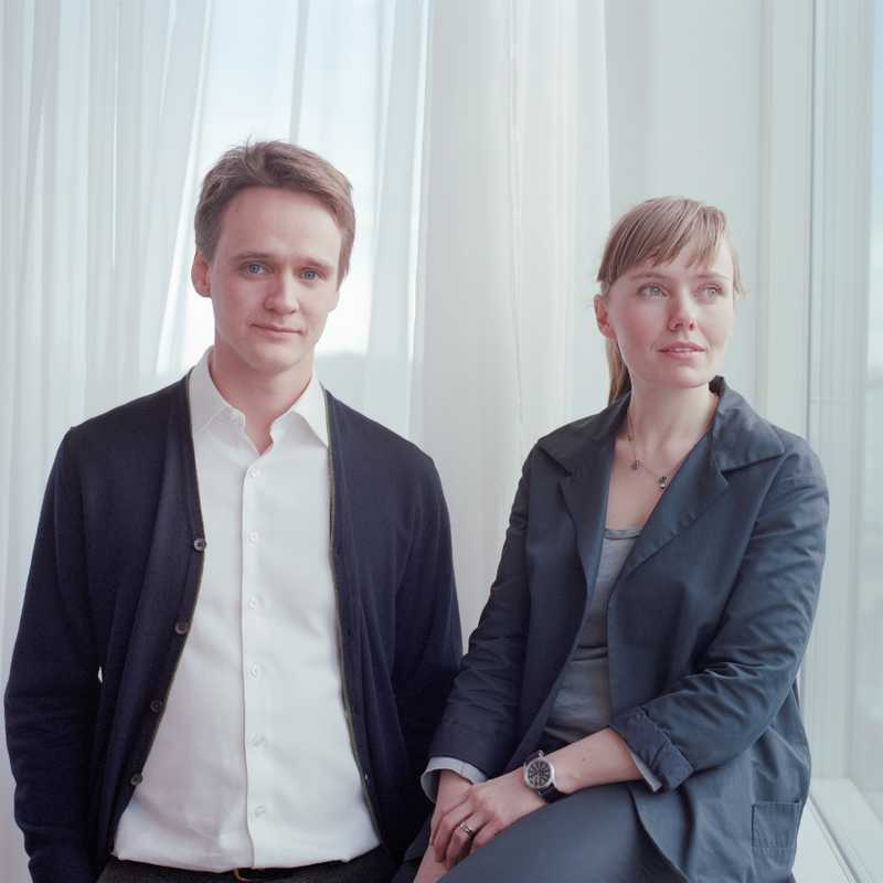 Baldur Mar, fund manager of the Björk fund, and wife Svanhildur Sigurðardóttir, Audur's office manager