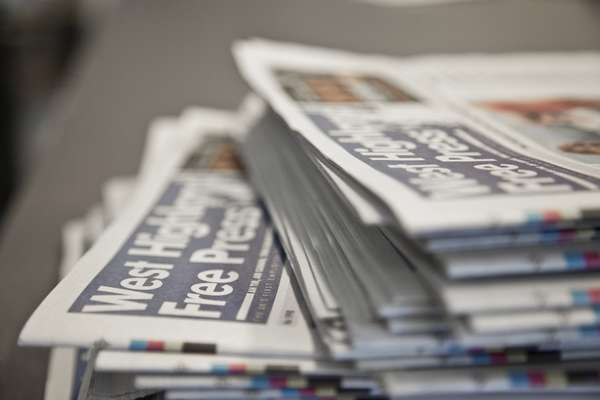 The 'Free Press' hits newsstands every Thursday
