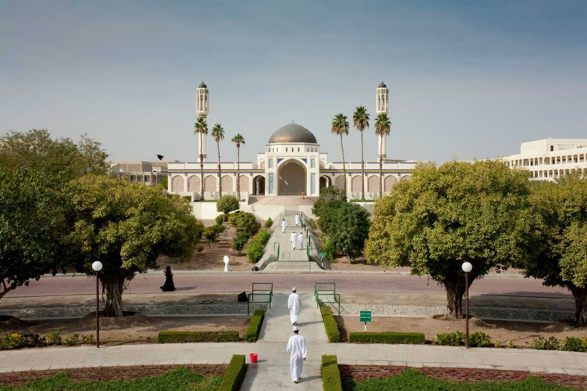 Mosque on a university campus