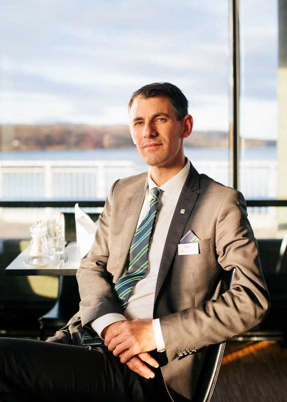 Thomas Hjellestad, manager of Thon Hotel Kirkenes