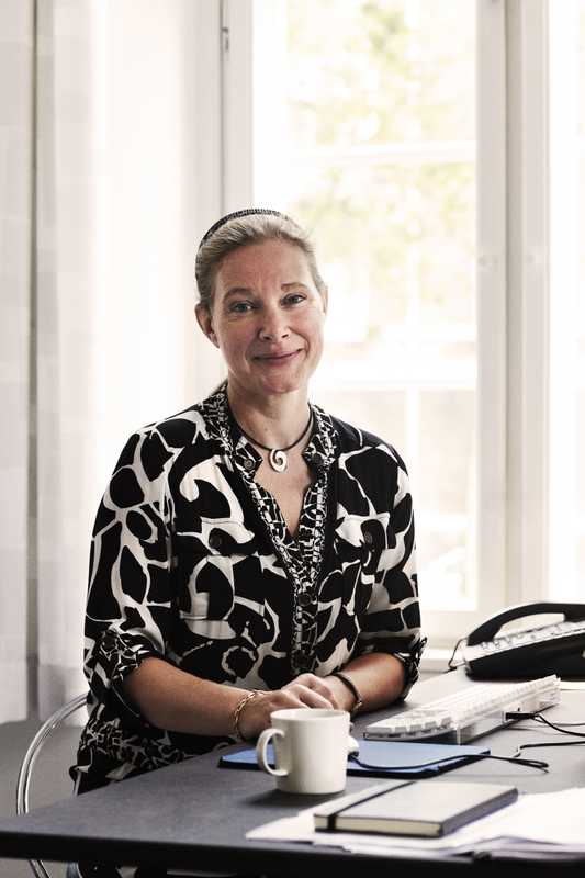 Anne-Louise Sommer, rector of the Danish Design School