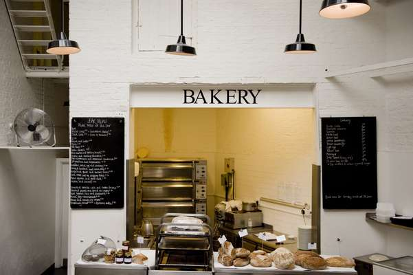Bakery section at St John (but the main bakery is in Smithfield)