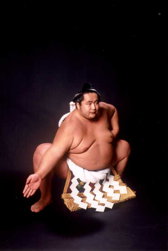 Shibatayama during his sumo days
