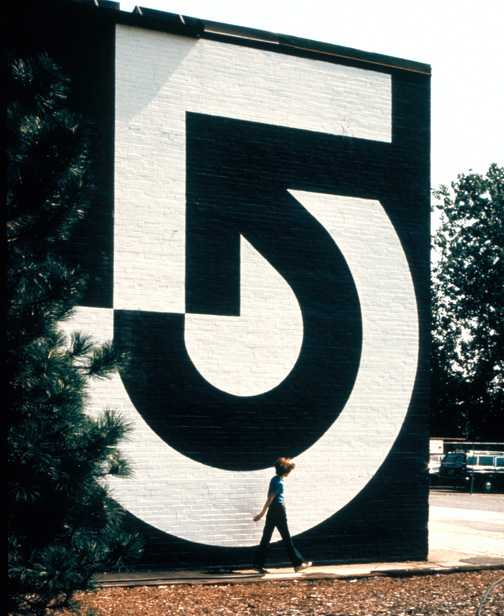 Wyman's logo for Channel 5 in Boston