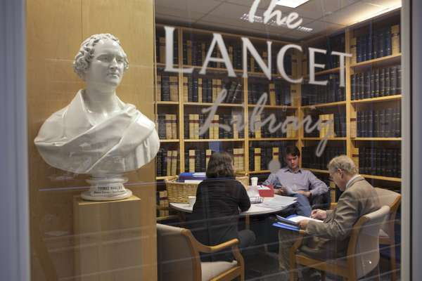 The library contains issues dating back to 1823, the inaugural year of 'The Lancet'