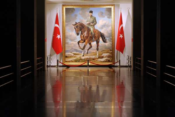 Portrait of Ataturk