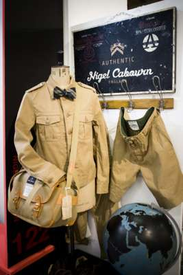 Nigel Cabourn's Second World War-inspired collection