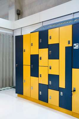 Lockers by Stuttgart-based firm Kessler & Söhne