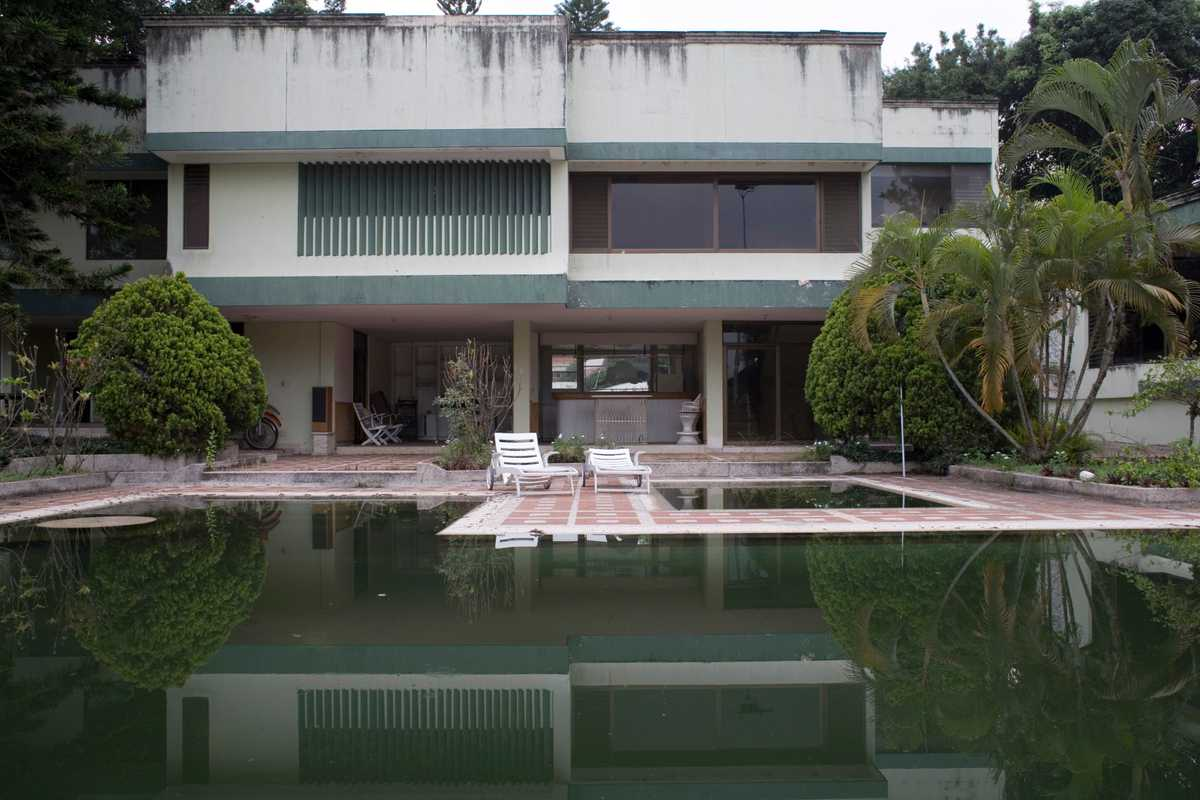 Mansion seized by the DNE in the rich Ciudad Jardin area of Cali