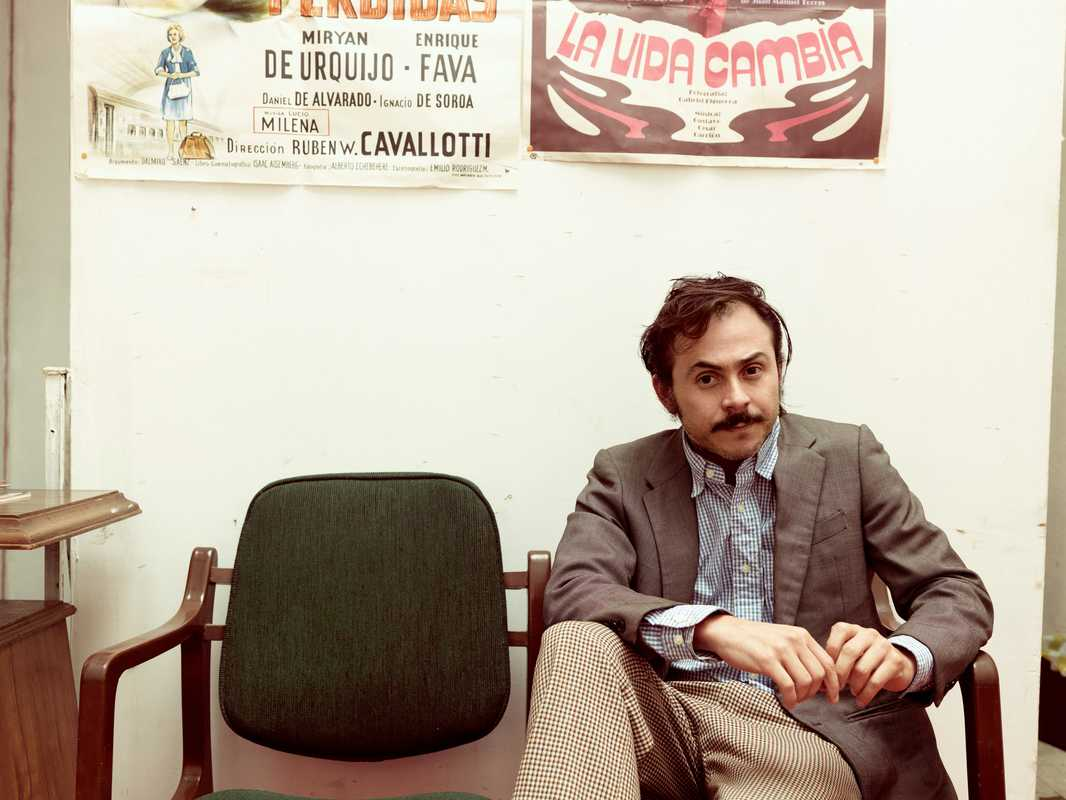 Director Gerardo Naranjo at his office