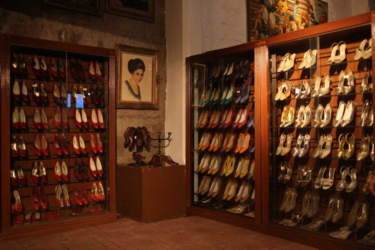 Marikina Shoe Museum displays around 800 examples of Imelda's footwear