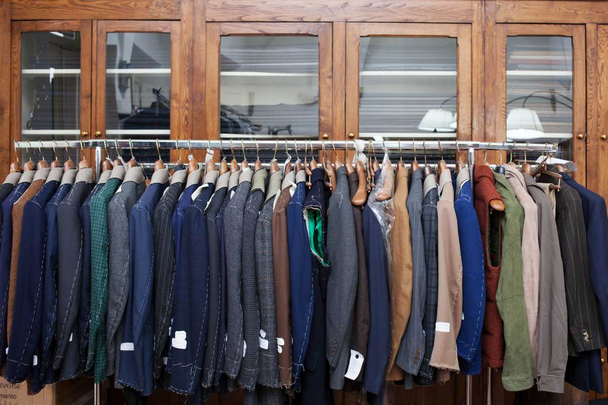 Jackets ready for foreign buyers
