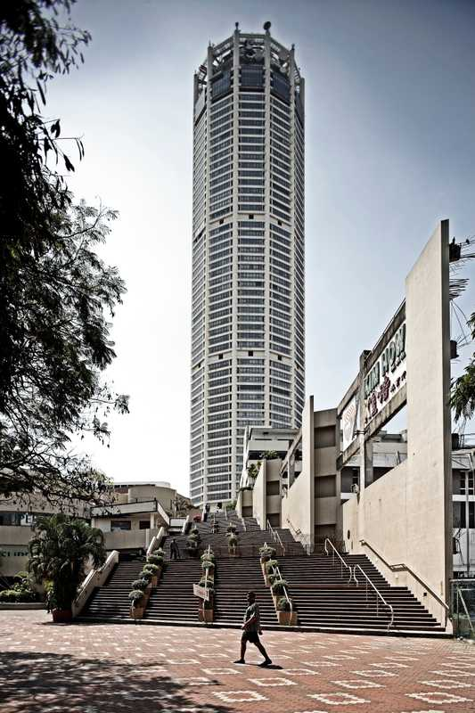 The Komtar, the tallest building in Penang
