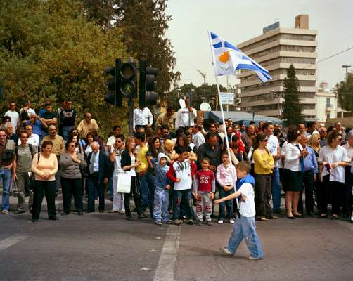 Celebration of Greek Independence Day in South Cyprus
