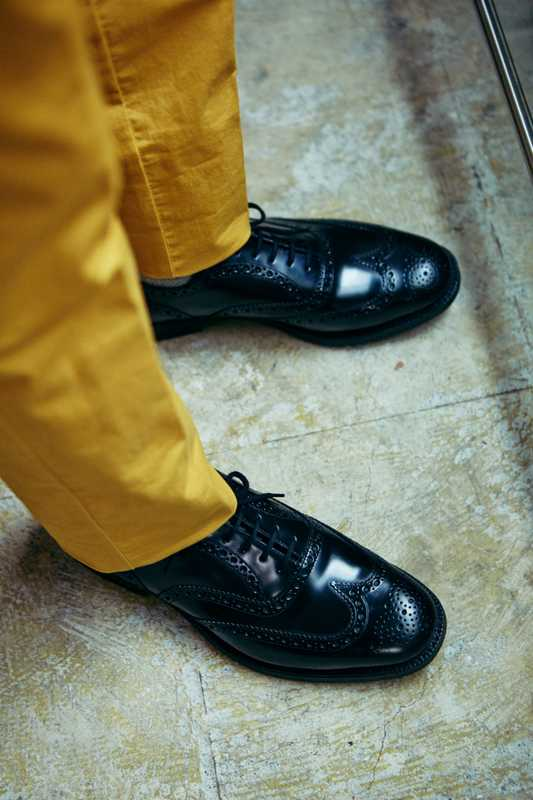 Trousers by Germano for Edifice, shoes by Church's