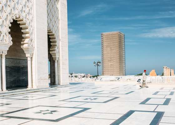 Mausoleum of Mohammed V in Rabat