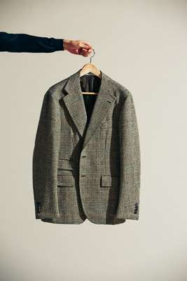 Jacket by Orazio Luciano, jumper by Zanone