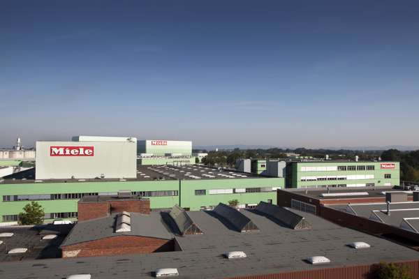 Gütersloh factory from above