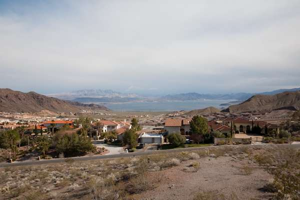 View of Lake Mead from Boulder City