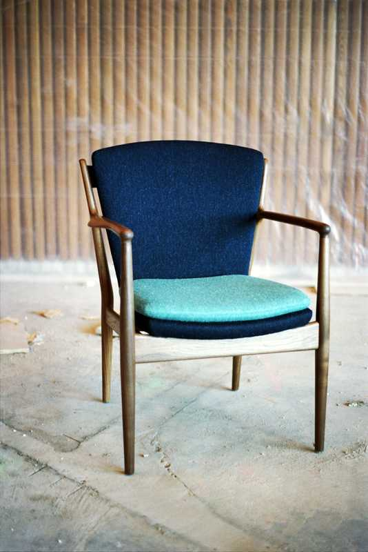 Reissue of a Juhl chair