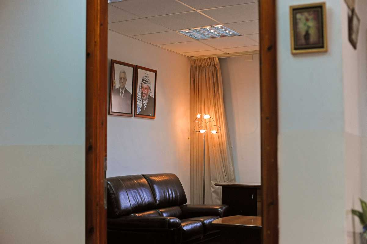Waiting room at the Negotiations Affairs Department