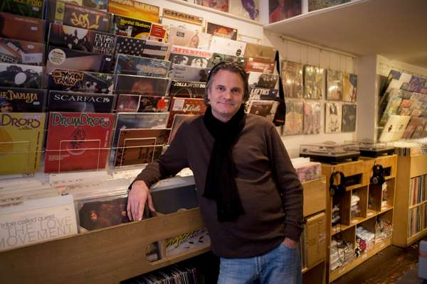 Amsterdam record shop