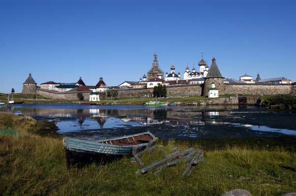 Solovki monastery on the White Sea