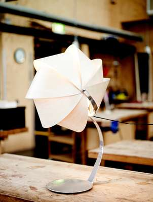Armadillo Lamp by School of Architecture and Design student Matthew Prince