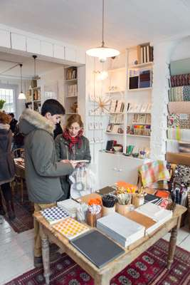Stationery shop Choosing Keeping