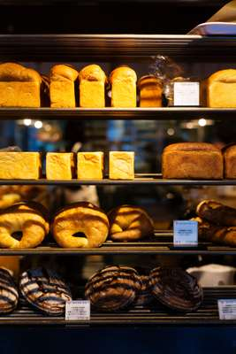 Racks of loaves