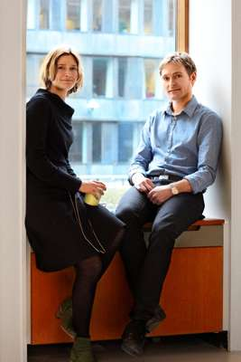 Project managers Runa Sabroe and Jakob Schjørring