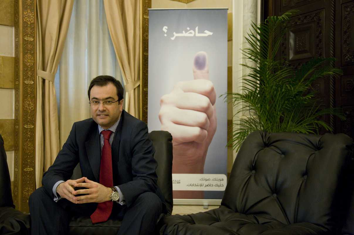 Rabih el Chaer, legal and political adviser to the minister of interior