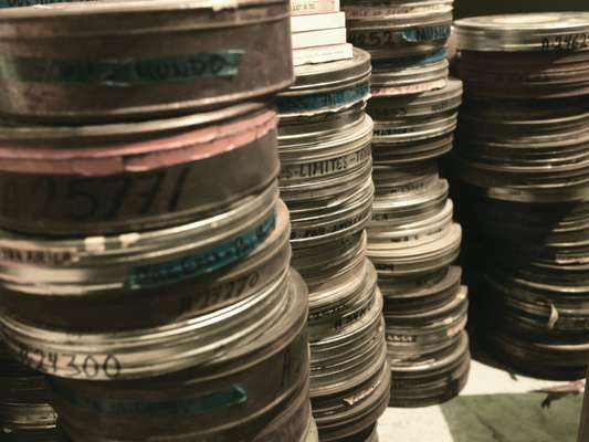 Film archives at Estudios Churubusco