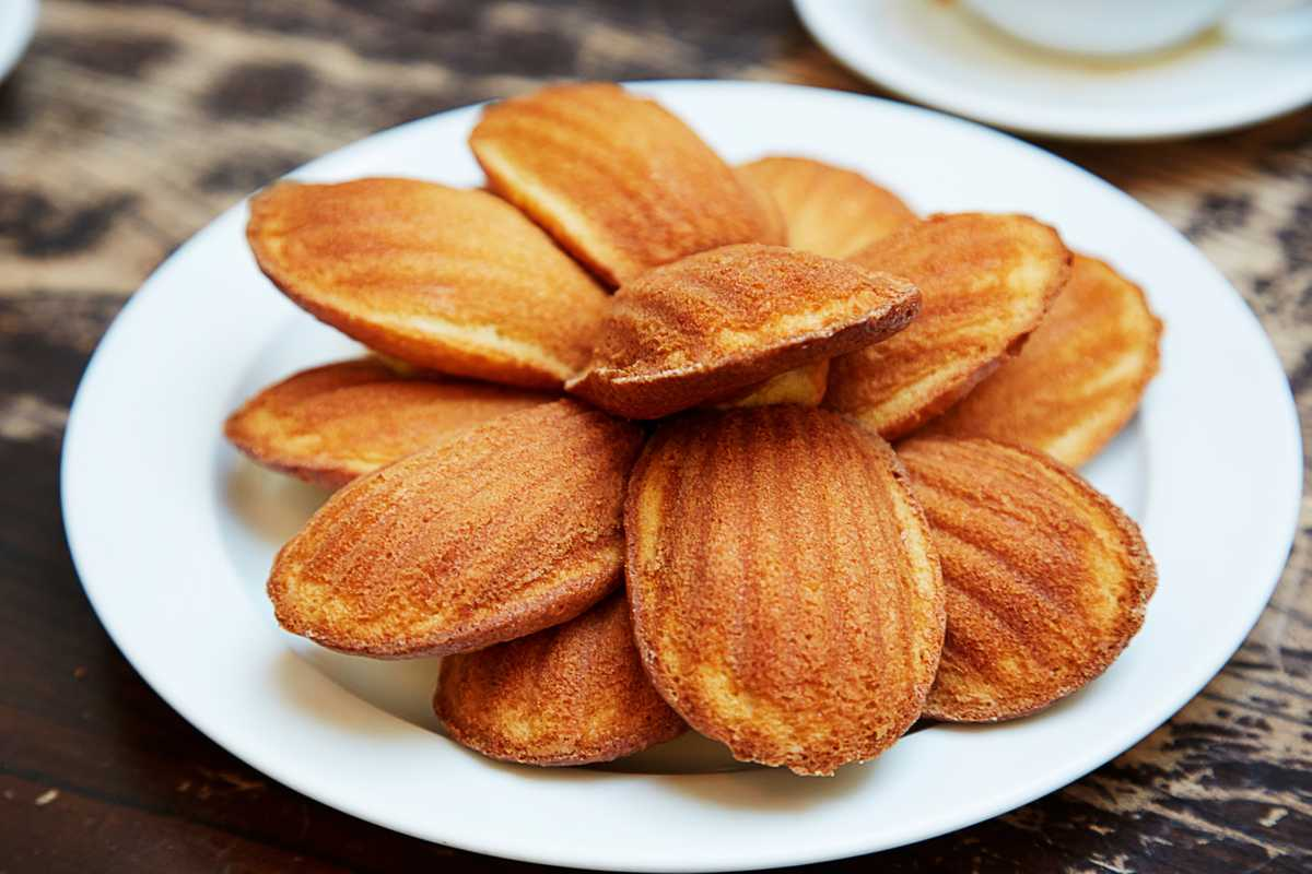 Whiteread's favourite: madeleines