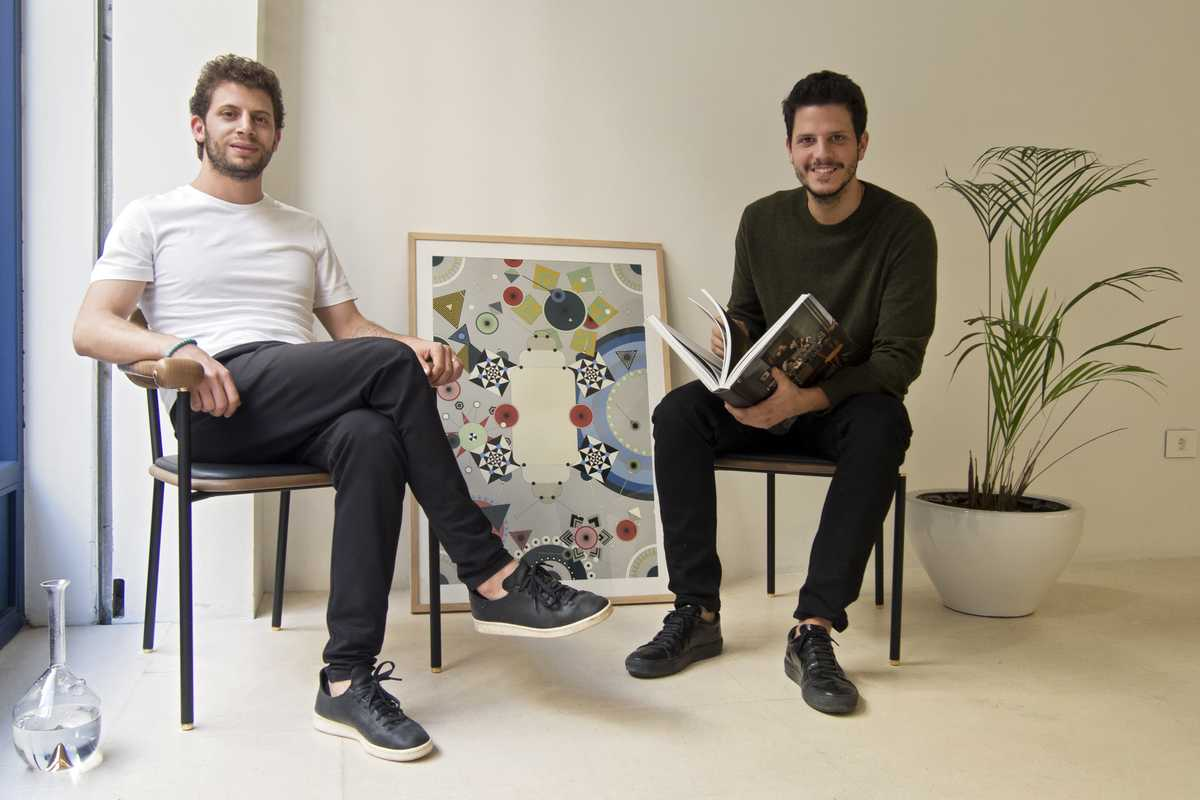 Designers Nicolas Moussallem (left) and David Raffoul