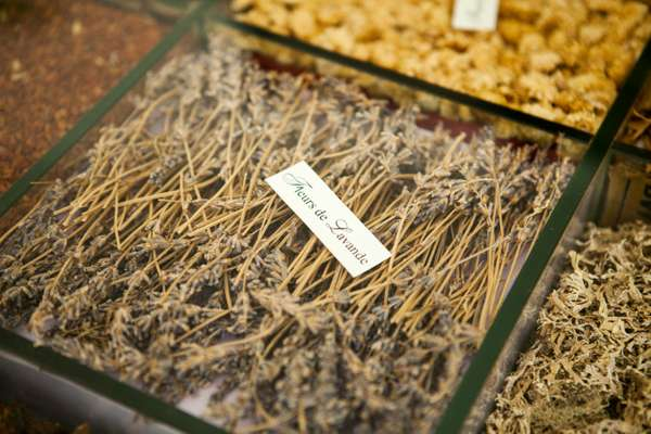 Dried lavender