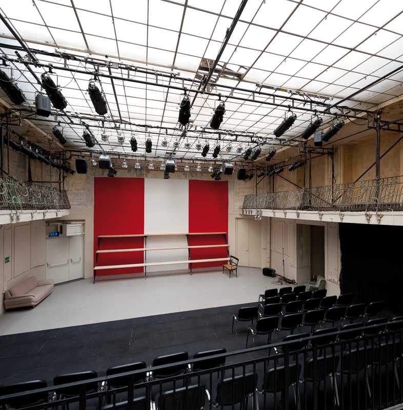 Auditorium of the Theater Nestroyhof Hamakom