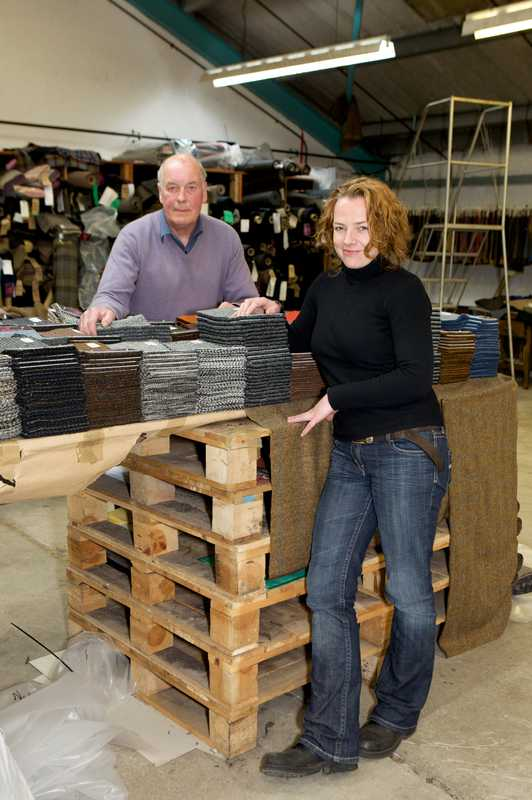 Ken Kennedy, one of the most experienced designers and his daughter Kelly