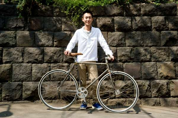 Kei Nakazato, manager of F.I.G. Bike store