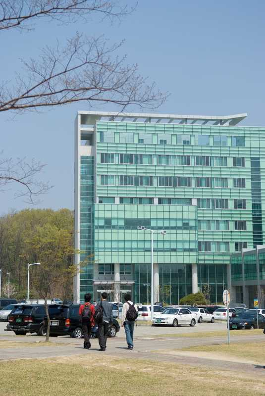 New building on Daejon campus