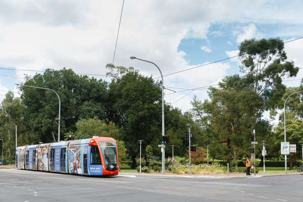 Tram line to the CBD