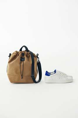 Bag by Bagsinprogress, trainers by JM Weston