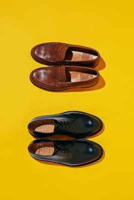 Shoes (from top to bottom) by JM Weston, by Church's