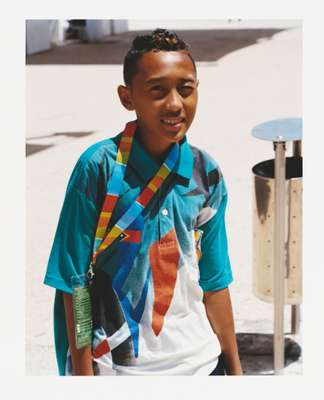 Francisco Maria Xavier de Jesus Araújo da Silva, a 13-year-old table tennis player from Timor Leste